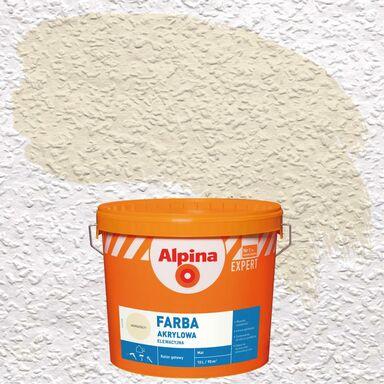 Farba elewacyjna akrylowa Jasnożółty ALPINA EXPERT