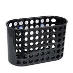 Koszyk płaski na przyssawki BLACK XL