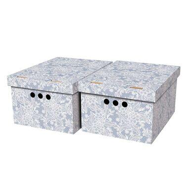 Zestaw pudeł A4 KORONKA 33 x 25 x 18 cm GLOBAL PAK