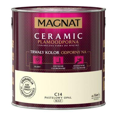 Farba wewnętrzna CERAMIC 2.5 l Pastelowy opal MAGNAT