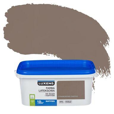 Farba wewnętrzna EMULSJA 2.5 l Cynamonowe ciastko LUXENS