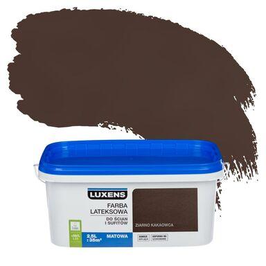 Farba wewnętrzna do ścian i sufitów EMULSJA 2.5 l Ziarno kakaowca LUXENS