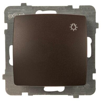 Przycisk do światła KARO  czekoladowy  OSPEL
