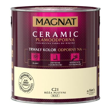Farba wewnętrzna CERAMIC 2.5 l Róża pustyni MAGNAT