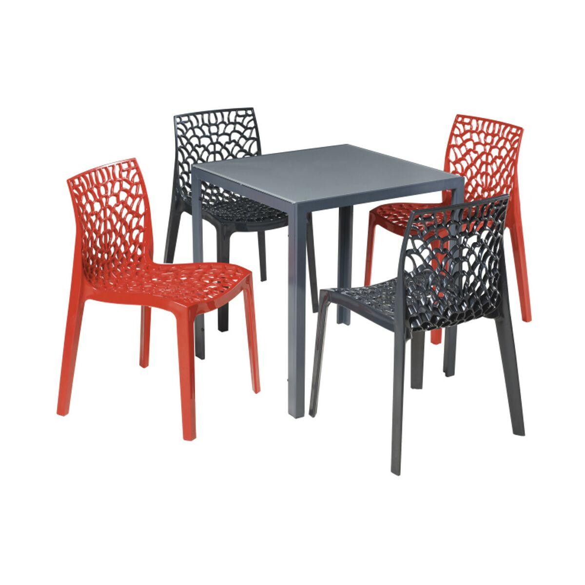 stoliki i krzesła ogrodowe z tworzywa