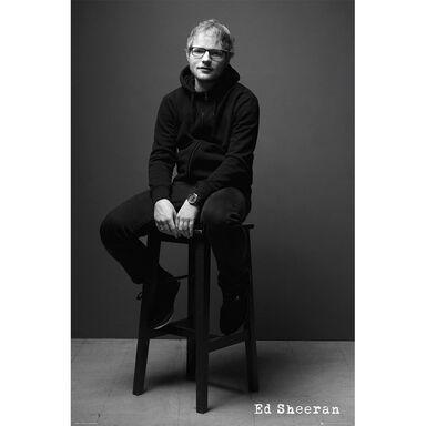 Plakat ED SHEERAN-BLACK & WHITE 61 x 91.5 cm