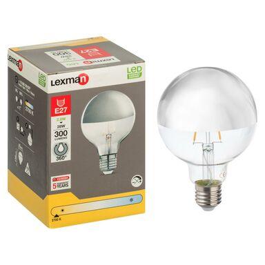 Żarówka dekoracyjna LED E27 (230 V) 2.8 W 300 lm LEXMAN