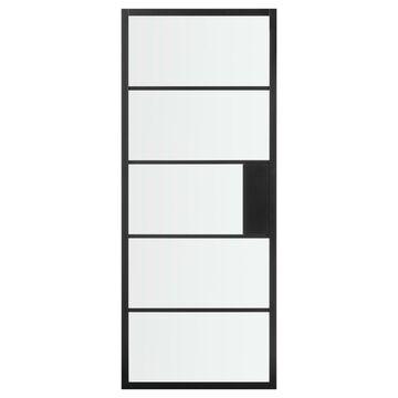 Skrzydło przesuwne CHLOE Czarne 80 Uniwersalne ARTENS