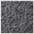 Kamień dekoracyjny gipsowy Lugano Graphite 37,5 x 11,3 cm 0.47m2 Maxstone