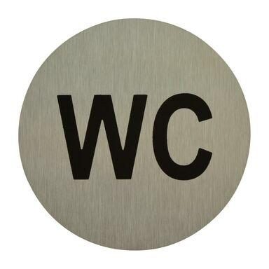 Znak informacyjny WC 7.5 x 7.5 cm