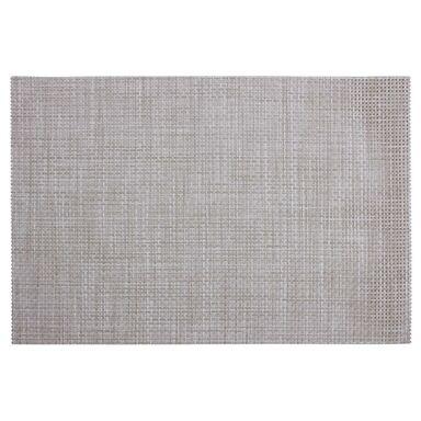 Podkładka na stół Treccia prostokątna 45 x 30 cm beżowa