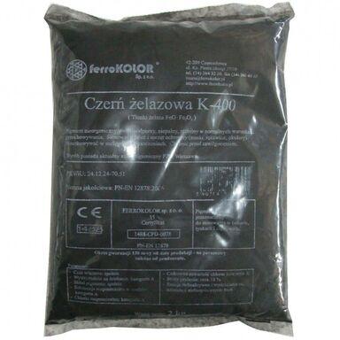 Barwnik do betonu CZERŃ ŻELAZOWA K-200 karton NOVODOMO