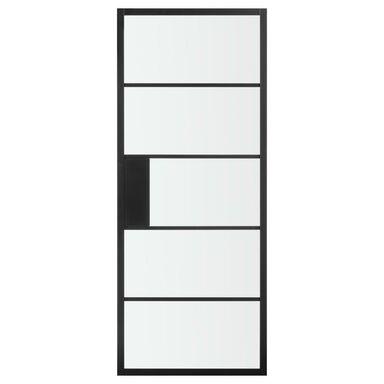 Skrzydło przesuwne CHLOE Czarne 90 Uniwersalne ARTENS