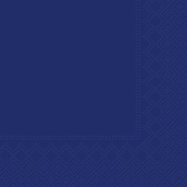 Serwetki UNICOLOR niebieskie 33 x 33 cm 20 szt.