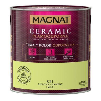 Farba wewnętrzna CERAMIC 2.5 l Zielony diament MAGNAT