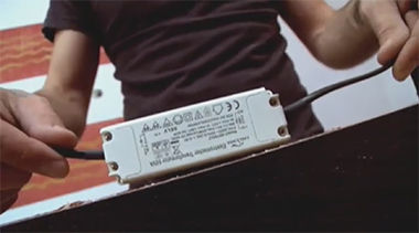 Montaż transformatora