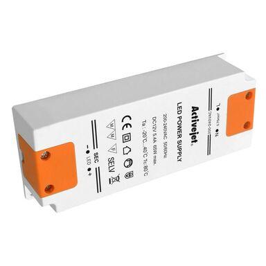 Zasilacz elektroniczny LED AJE-DRIVE 80 W 12 V biały ACTIVEJET