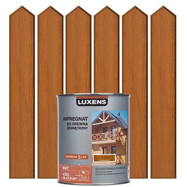 Impregnat do drewna ZEWNĘTRZNY 0.75 l Tik naturalny LUXENS