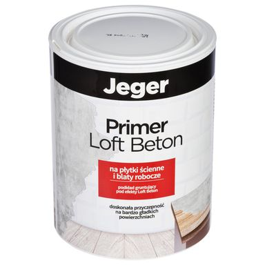 Podkład gruntujący PRIMER LOFT BETON 1 l na płytki, blaty JEGER