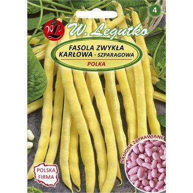 Fasola zwykła karłowa POLKA nasiona zaprawiane 30 g W. LEGUTKO