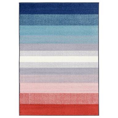 Dywan SIMP niebiesko-czerwony 80 x 120 cm