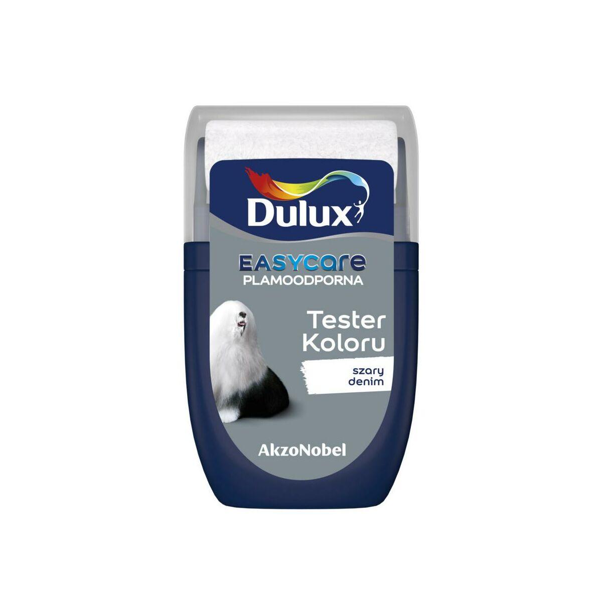 Tester farby EASYCARE 30 ml Szary denim DULUX