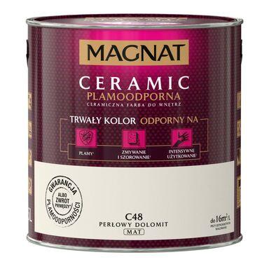 Farba wewnętrzna CERAMIC 2.5 l Perłowy dolomit MAGNAT