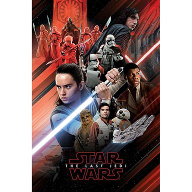 Plakat STAR WARS EPISODE VIII-RE 61 x 91.5 cm