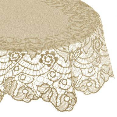 Obrus na stół JONA kremowy 100 x 150 cm