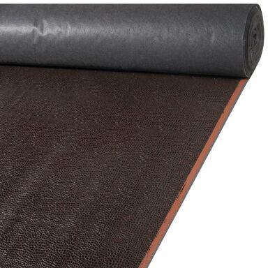 Tkanina na mb CROCO ciemnobrązowa imitacja skóry szer. 138 cm