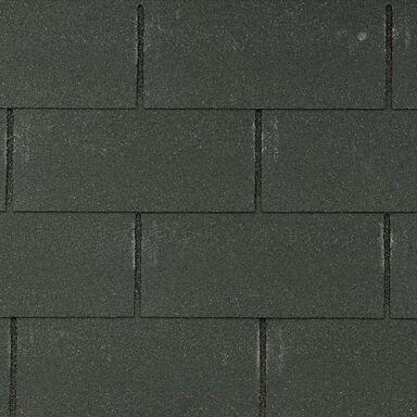 Gont bitumiczny PROSTOKĄTNY Czarny 3 m2 MIDA