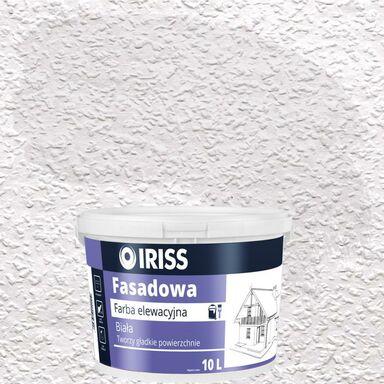 Farba elewacyjna akrylowa FASADOWA Biały IRISS