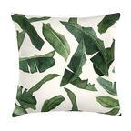 Poduszka w liście Manaia zielona 45 x 45 cm