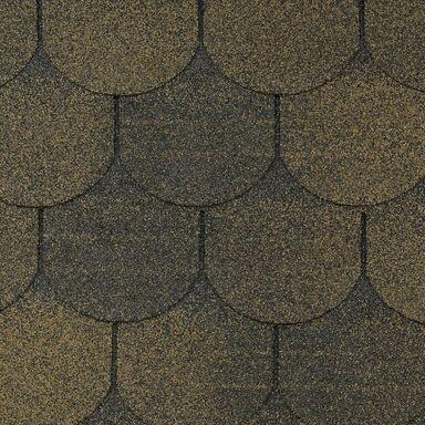 Gont bitumiczny KARPIÓWKA Brązowy 3 m2 MIDA