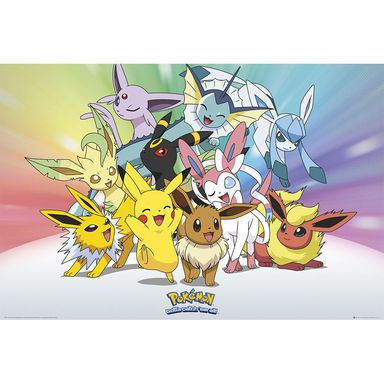 Plakat Pokemon Eevee 61 X 915 Cm
