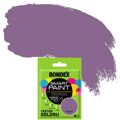 Tester farby SMART PAINT 40 ml Śliwka w kompocie BONDEX