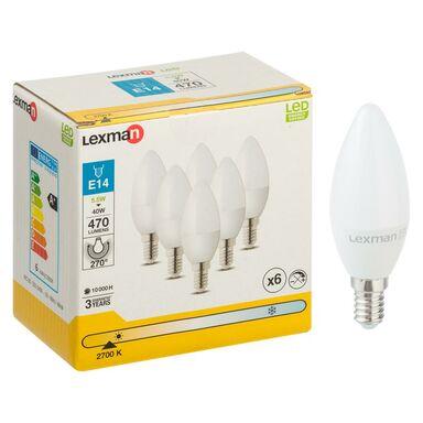 Żarówka E14 (230 V) 5,5 W 470 lm Ciepła biel LEXMAN