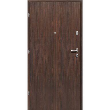Drzwi wejściowe PREMIUM Orzech alpejski 90 Lewe LOXA