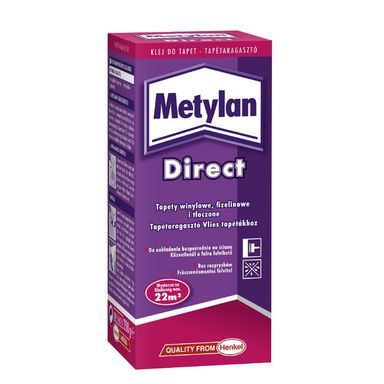 Klej do tapet flizelinowych METYLAN DIRECT 200 g HENKEL