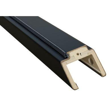 Belka górna ościeżnicy REGULOWANEJ 80 Czarna 80 - 100 mm VOSTER