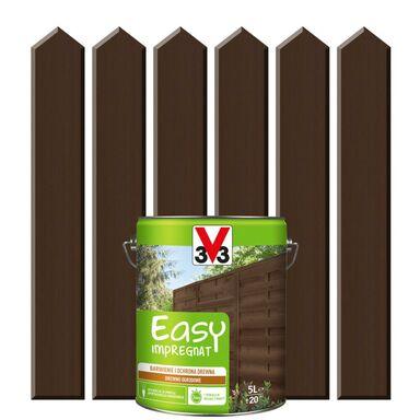 Impregnat do drewna EASY 5 l Okume V33