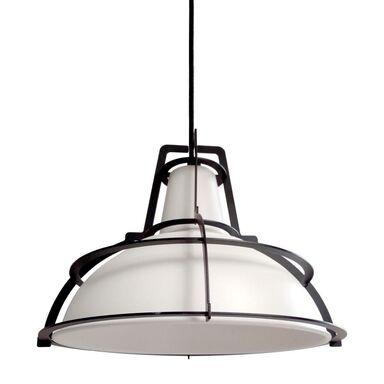 Lampa wisząca DRITTO biało-czarna E27 LIGHT PRESTIGE