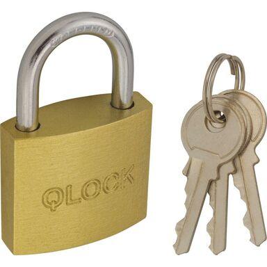 Kłódka z kluczem 30MM QLOCK