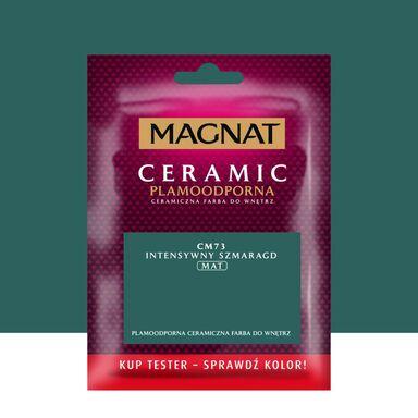 Tester farby Ceramic 0.03 l Intensywny szmaragd Magnat