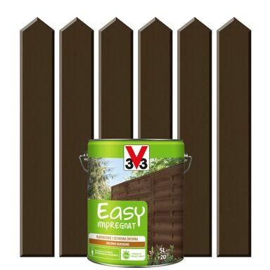 Impregnat do drewna EASY 5 l Mokka V33