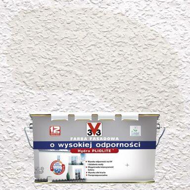 Farba elewacyjna akrylowa O WYSOKIEJ ODPORNOŚCI Biały V33