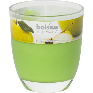 Świeca zapachowa BIG JAR  zapach: Zielone jabłuszko  BOLSIUS