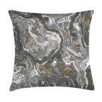 Poduszka imitacja kamienia szara 45 x 45 cm