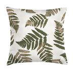 Poduszka w liście Fern zielona 45 x 45 cm
