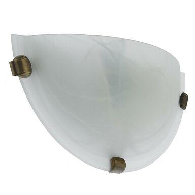 Kinkiet DUNA biały z patyną E27 CANDELLUX